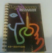 Lyman Reloading Handbook No. 43rd Edition, 1964