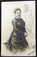 Hansi Jarno-Niese - Oper Musik Operette 1907 - Film Foto Autogramm-AK (Y-1996