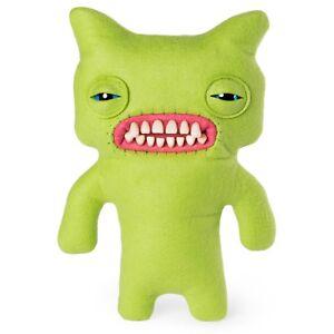 "Spin Master FUGGLER Funny Ugly Monster Green Munch Medium Brand New 9"" Rare"