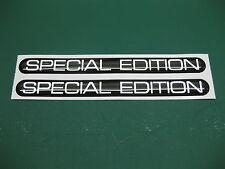 2 Edición Especial semicirculares pegatinas