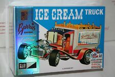 MPC George Barris Ice Cream Truck Plastic Model Kit in New Sealed Box 1/25 Scale