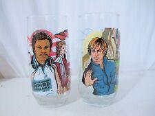 Vintage 1980 Star Wars Burger King Glasses Empire Strikes Back 1980 Set of 2 EUC