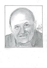 Portrait original de Frédéric DARD