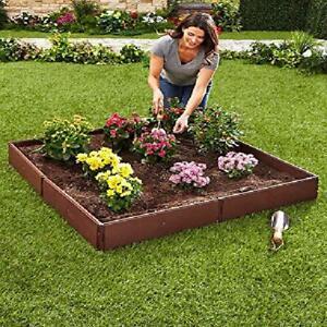 Raised Garden Bed Set for Vegetable and Flower Gardening