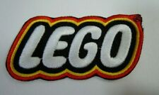 """NEW LEGO EMBROIDERED IRON-ON PATCH 3"""" x 1.5"""""""