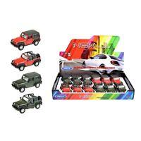 Modellauto Jeep Wrangler Rubicon Geländewagen Zufällige Farbe! Auto 1:34-39