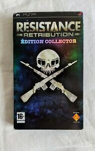 Resistance Retribution Édition Collector / PSP / Complet