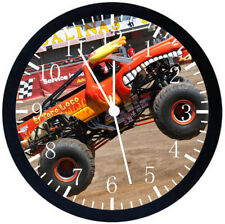 Big Truck Black Frame Wall Clock Nice For Decor or Gifts E298