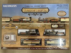 Bachmann HO Transcontinental Set With Digital Sound - Limited Edition 1000 NEW