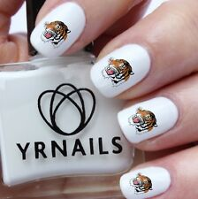 Nail Art Water Transfers Decals - Tiger - S973