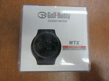 NEW GOLF BUDDY WTX SMART GOLF GPS WATCH Preloaded with over 38,000 courses