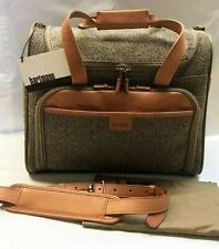 Hartmann Luggage Tweed Vertical Satchel Attachable Carry On Tote