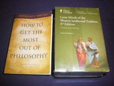 Teaching Co Courses CDs      GREAT MINDS of the WESTERN INTELLECTUAL TRADITION