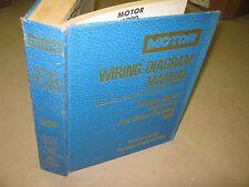 Ford CO 1990 Motor Wiring Diagram Manual General Motors book AC Heater Vacuum