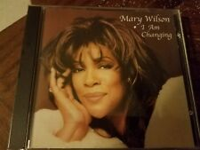 I Am Changing by Mary Wilson AUTOGRAPHED/ OOP/