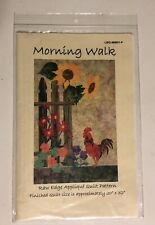 Morning Walk Quilt Pattern by Laundry Basket Quilts
