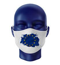 Europäischen Union EU Flagge Fahne Behelfsmaske Mundschutz Maske Gesichtmaske