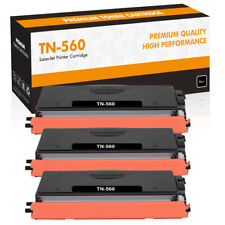 3PK High Yield TN560 Toner Compatible for Brother MFC-8890DW 8680DN DCP-8890DW