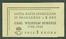 SWEDEN (H64) Scott 335a 5ore Scheele booklet, VF