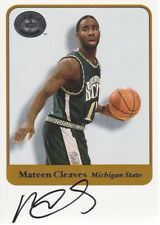 2001 Fleer Greats of the Game Autograph Mateen Cleaves AUTO Michigan State