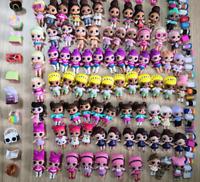 Sets 10 LOL Surprise Dolls Lot Random big sister Random Dress Shoes Bottle