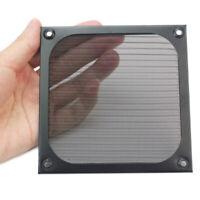 For PC Fan Cooling Dustproof Dust Filter Case Black Wire Grill Guard 12x12cm