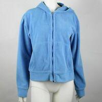 Patagonia Rhytm Women's Full Zip Hoodie Size Medium Solid Blue Casual Athletic