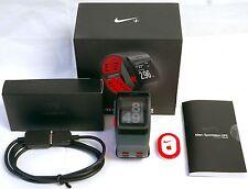 Nike+ Plus Foot Pod Sensor GPS Sport Watch Anthracite/Red TomTom fitness runner