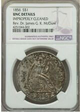 1856 SEATED LIBERTY Silver DOLLAR >NGC 60< SUPER FAST FREE SHIPPING!!!