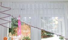 Moderne Gardine Stores Blätter Stickerei Vorhang Fenster Dekoration Geschenk TOP
