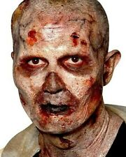 Woochie Stage 2 Zombie Foam Latex Mask FX Prosthetic Halloween Adult Fancy Dress