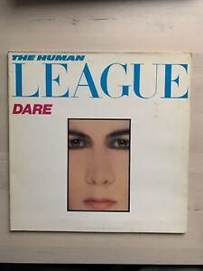 the human league dare gatefold vinyl LP V2192