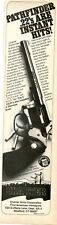 1981 Print Ad of Charter Arms Pathfinder .22 Revolver