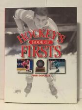 Hockey's Book of Firsts - Revised by James Duplacey (2007, Hardcover)