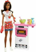 Barbie Nikki I Can Be Anything Bakery  Doll Barbie Career Doll & Playset