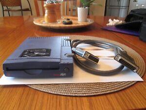 Iomega Zip 100 Scsi Parallel Port External Drive - Manuals, Floppy Disc
