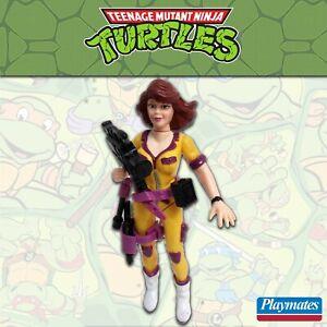 Teenage Mutant Ninja Turtles April O'Neil Complete 1992 Playmates neca