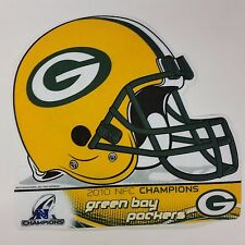 NFL Green Bay Packers Helmet Pennant, NEW (2010 NFC Champions)