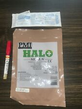 Halo Chest Seals (2 Per Package) Military EMS Medic Supply LOT !! LOOK!!
