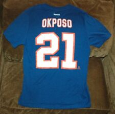 watch 8be19 567cf Kyle Okposo New York Islanders Jersey T-Shirt YOUTH Large NEW w Tags Stanley