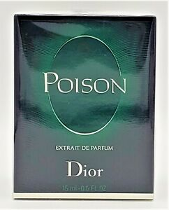 Christian Dior Poison Extrait de Parfum 15ml New Authentic & Fast Finescents!