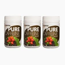 3 x 100 PURE CAFFEINE TABLETS  Coffee Berry Tablets Organic Gluten Free