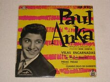 "PAUL ANKA RED SAILS SPANISH ORIGINAL ISSUE EP 7"""