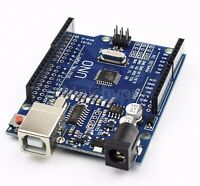 NEW Arduino compatible UNO R3 ATMEGA328P CH340G Board + USB Cable  + wires