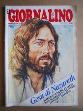 GIORNALINO n°15 1977 con Raro inserto Film Gesu di Nazareth Film  [G555]