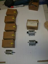 ITT General Controls vintage NOS mechanical counter lot of 9