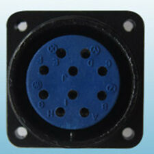 10 Pin Panel Mount Outlet,Socket,Miller,Hobart, for millermatic 250X and 251