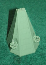LEGO 4867 - Harry Potter - Hogwarts Tower Roof 6 x 8 x 9 - Sand Green