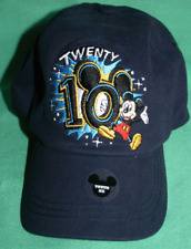 Disney Mickey Mouse Twenty 10 Youth Hat 2010 Collectible Hat Size Youth