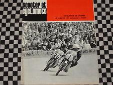 revue SCOOTER ET CYCLOMOTO 1968 / GRAND PRIX 50cc / TECHNIQUE 2 TEMPS